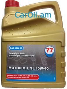 77 Lubricants Motor Oil 10W-40 4L Կիսասինթետիկ