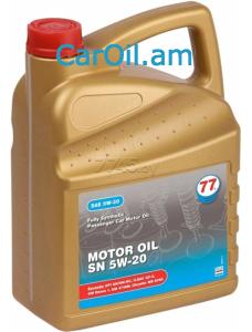 77 Lubricants Motor Oil 5W-20 4L Սինթետիկ