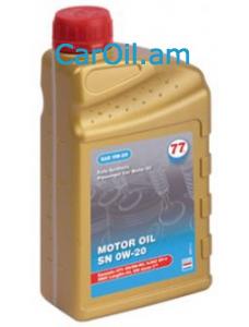 77 Lubricants Motor Oil 0W-20 4L Սինթետիկ