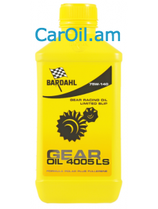 BARDAHL 75W-140 GEAR OIL 4005 Limited Slip 1L