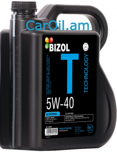 BIZOL Technology  5W-40 4L, Լրիվ սինթետիկ