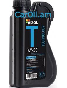 BIZOL Technology 0W-30 1L, Լրիվ սինթետիկ