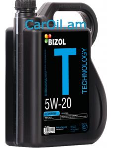 BIZOL Technology 5W-20 4L, Լրիվ սինթետիկ