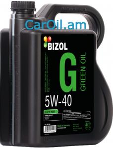 BIZOL Green oil 5W-40 4L, Լրիվ սինթետիկ