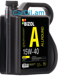 BIZOL Allround 15W-40 4L, Միներալ