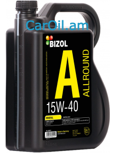 BIZOL Allround 15W-40 5L, Միներալ