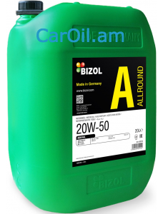 BIZOL Allround 20W-50 20L, Միներալ