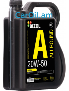 BIZOL Allround 20W-50 5L, Միներալ