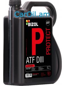 BIZOL Protect ATF III 5L, Կիսասինթեթիկ Դեղին