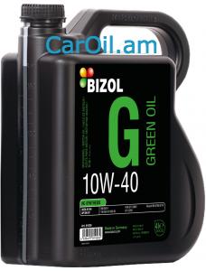 BIZOL Green oil 10W-40 4L, Կիսասինթետիկ