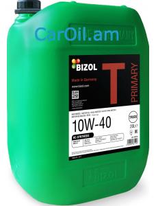 BIZOL Truck Primary 10W-40 20L Կիսասինթետիկ տուրբո դիզել