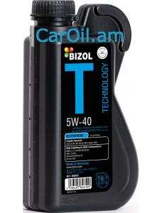 BIZOL Technology  5W-40 1L, Լրիվ սինթետիկ