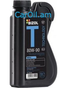 BIZOL Technology GL5 80W-90, 1L Միներալ