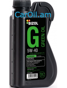 BIZOL Green oil 5W-40 1L, Լրիվ սինթետիկ