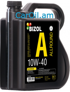 BIZOL Allround 10W-40 4L, Կիսասինթետիկ