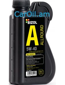 BIZOL Allround 5W-40 1L, Լրիվ սինթետիկ