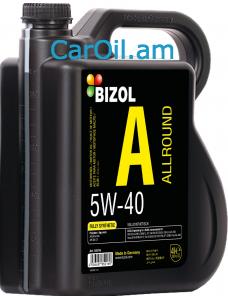 BIZOL Allround 5W-40 4L, Լրիվ սինթետիկ