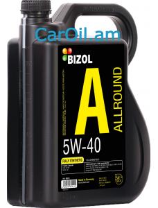 BIZOL Allround 5W-40 5L, Լրիվ սինթետիկ
