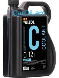 BIZOL Antifrreze G12 Concentrate (-80) 5Լ Կարմիր
