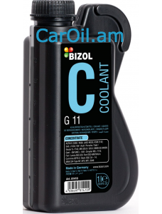 BIZOL Antifrreze G11 Concentrate (-80) 1Լ Կապույտ