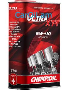 CHEMPIOIL Ultra XTT 5W-40 1L Լրիվ սինթետիկ