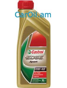 Castrol EDGE SPORT 0W-40 1L Լրիվ սինթետիկ