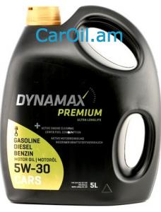 DYNAMAX PREMIUM ULTRA ԼONGLIFE 5W-305L Լրիվ սինթետիկ