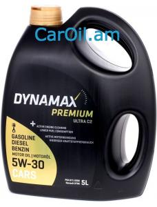 DYNAMAX PREMIUM ULTRA C2 5W-30 5L Լրիվ սինթետիկ