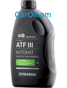 DYNAMAX AUTOMATIC ATF III COLORLESS 1L