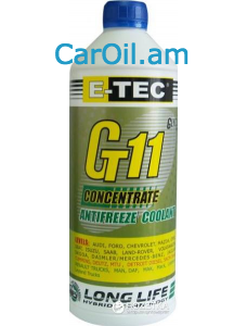 E-TEC Antifreeze Concentrate  (-80) G11 1.5կգ  կապույտ