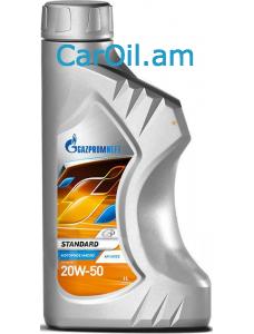 GAZPROMNEFT Standard 20W-50 1L Միներալ