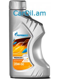 GAZPROMNEFT Premium 20W-50 1L Միներալ