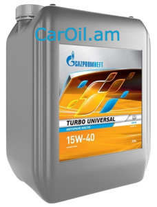 GAZPROMNEFT Turbo universal 15W-40 20L Միներալ