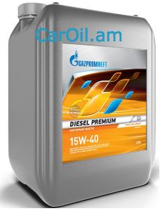 Gazpromneft Diesel Premium 15W-40 20L, Կիսասինթետիկ
