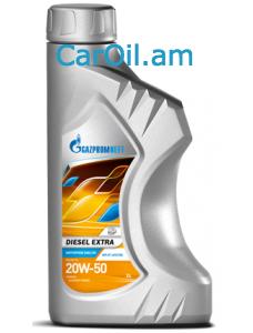 GAZPROMNEFT Diesel Extra 20W-50 1L, Կիսասինթետիկ