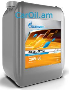 GAZPROMNEFT Diesel Extra 20W-50 20L, Կիսասինթետիկ
