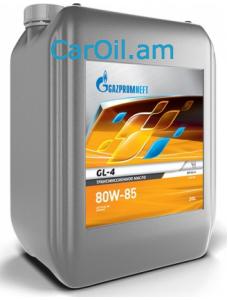 GAZPROMNEFT GL-4 80W-85 20L, Տրանսմիսիոն յուղ