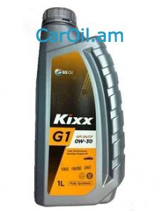 KIXX G1 0W-30 1L Լրիվ սինթետիկ