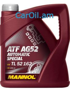 MANNOL ATF AG52 Automatic Special Դեղին 4L