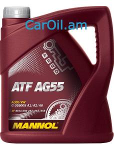 MANNOL ATF AG55 Դեղին 4L Սինթետիկ