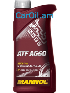 MANNOL ATF AG60 Դեղին 1L Սինթետիկ