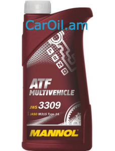 MANNOL ATF Multivehicle Կարմիր 1L