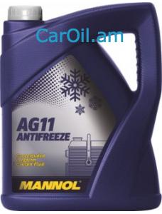 MANNOL Longterm Antifreeze AG11 5L Կապույտ