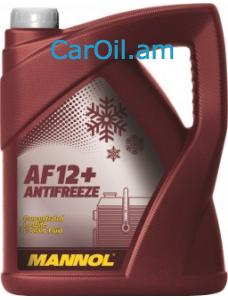 MANNOL Longlife Antifreeze AF12+ 5L Կարմիր