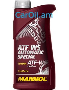 MANNOL ATF WS Automatic Special Կարմիր 1L