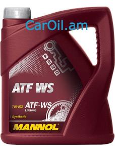 MANNOL ATF WS Automatic Special Կարմիր 4L