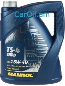 MANNOL TS-4 UHPD 15W-40 5L, Միներալ