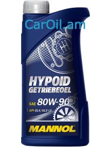 MANNOL Hypoid Getriebeoel 80W-90 1L