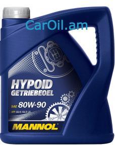 MANNOL Hypoid Getriebeoel 80W-90 4L
