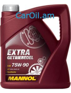 MANNOL Extra Getriebeoel 75W-90 4L
